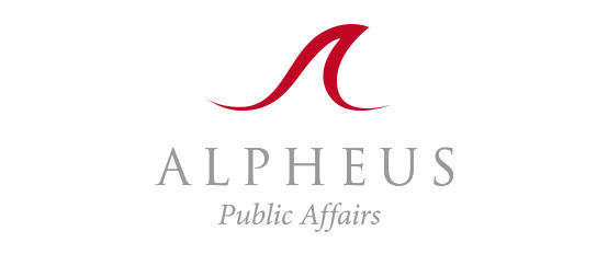Alpheus Logo and visual identity design