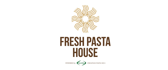 Fresh Pasta House - Logo and visual identity design