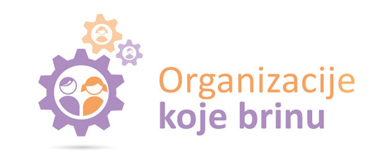 Organizations that care - Design of the project logo