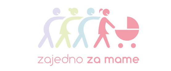 For mums together - Logo and visual identity design