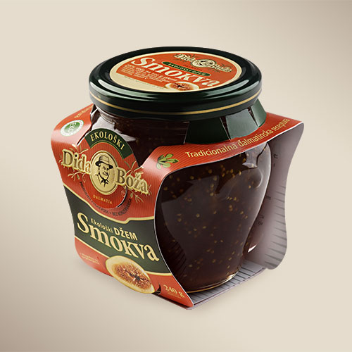 Packaging design for a series of jam and spread products Dida Boža - BERNARDIĆ STUDIO