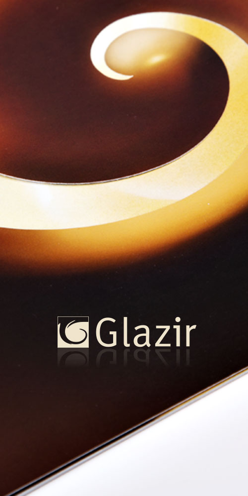 Design of the company profile brochure for the company GLAZIR-Bernardić studio