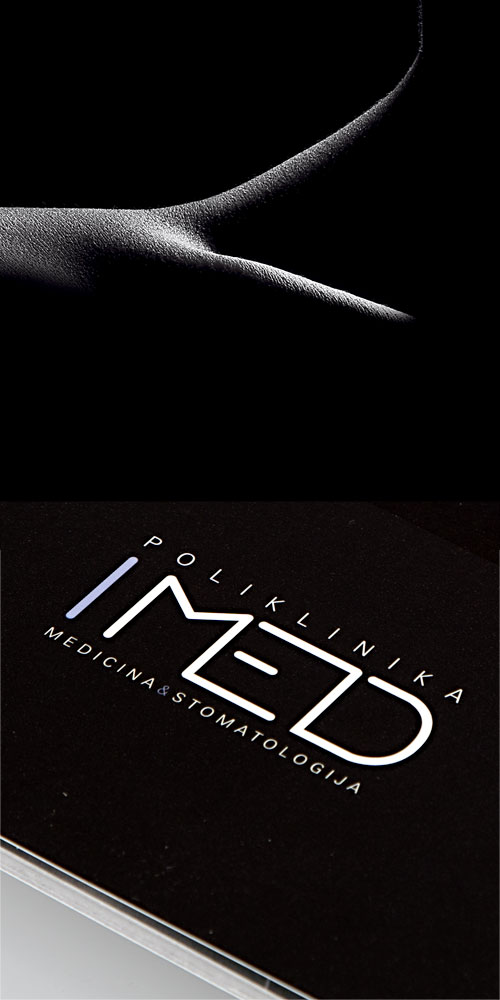 Corporate brochure design for IMED Polyclinic BERNARDIĆ STUDIO