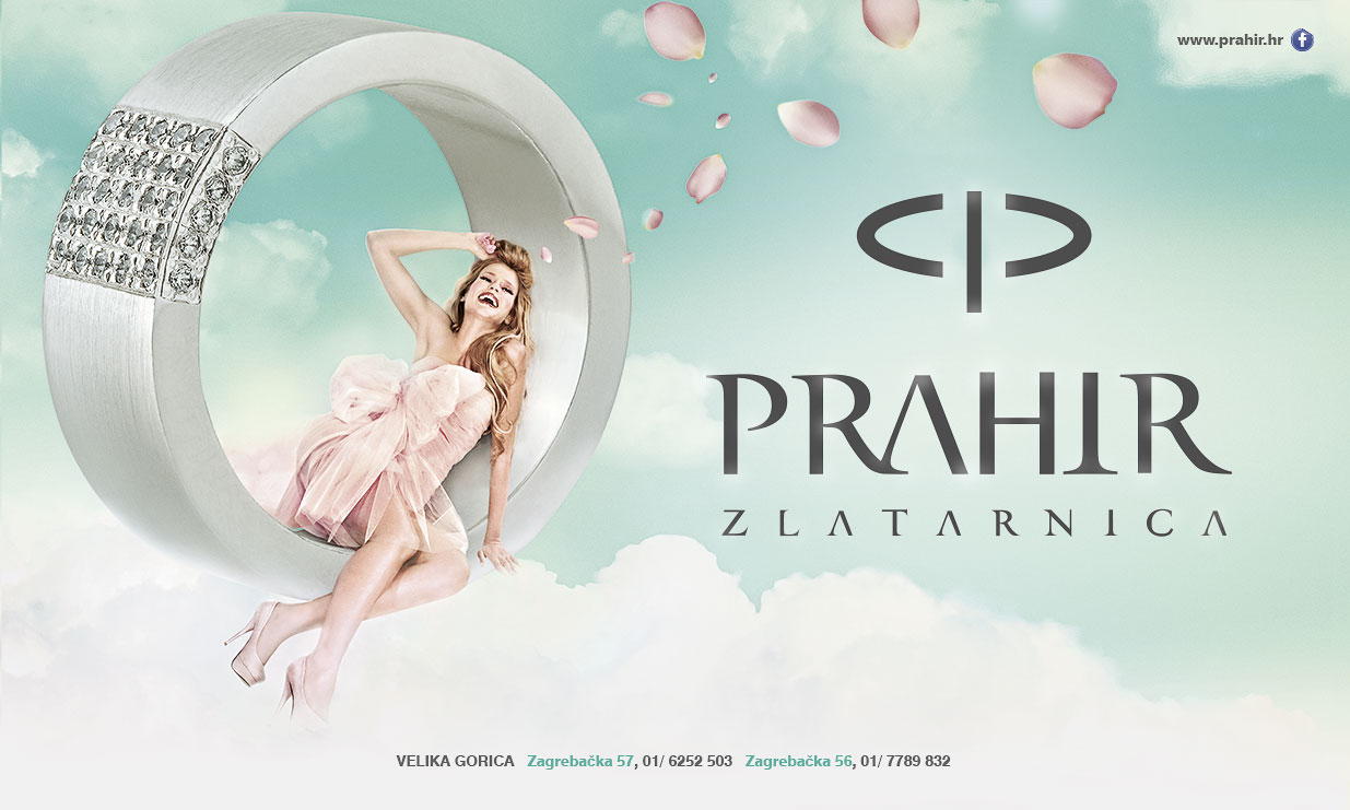 Billboard design for PRAHIR Jewellers  Design BERNARDIĆ STUDIO