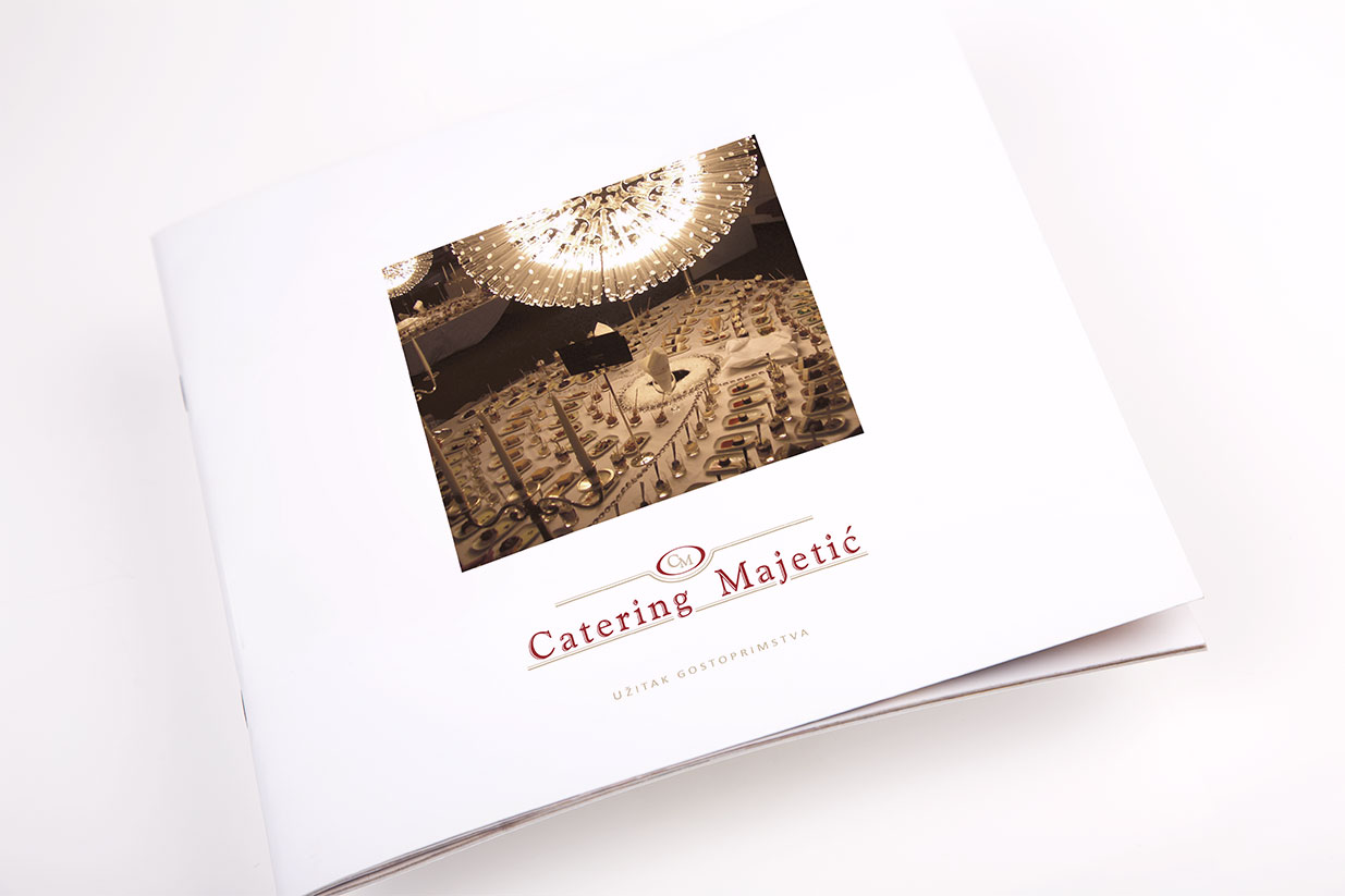 Design of the Majetić Catering brochure | BERNARDIĆ STUDIO creative production