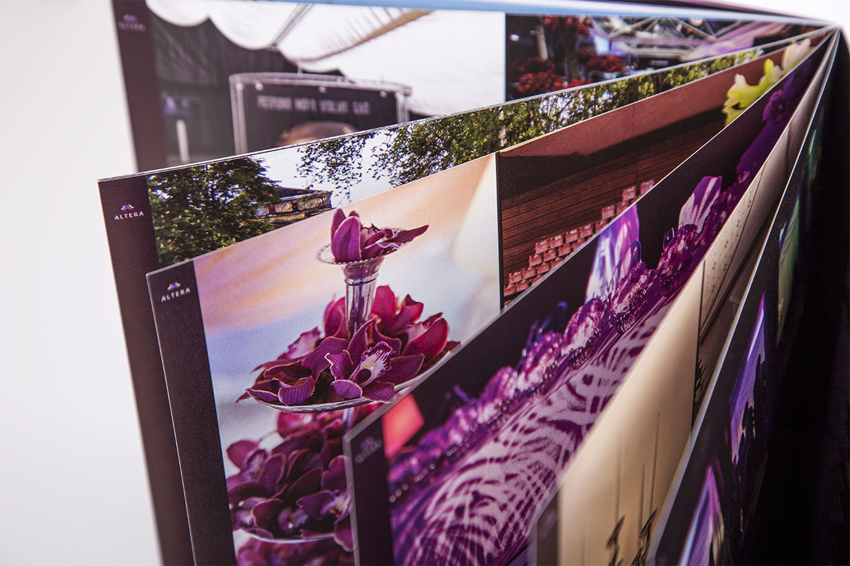 Catalog design ALTERA tents and pagodas | BERNARDIĆ STUDIO creative production