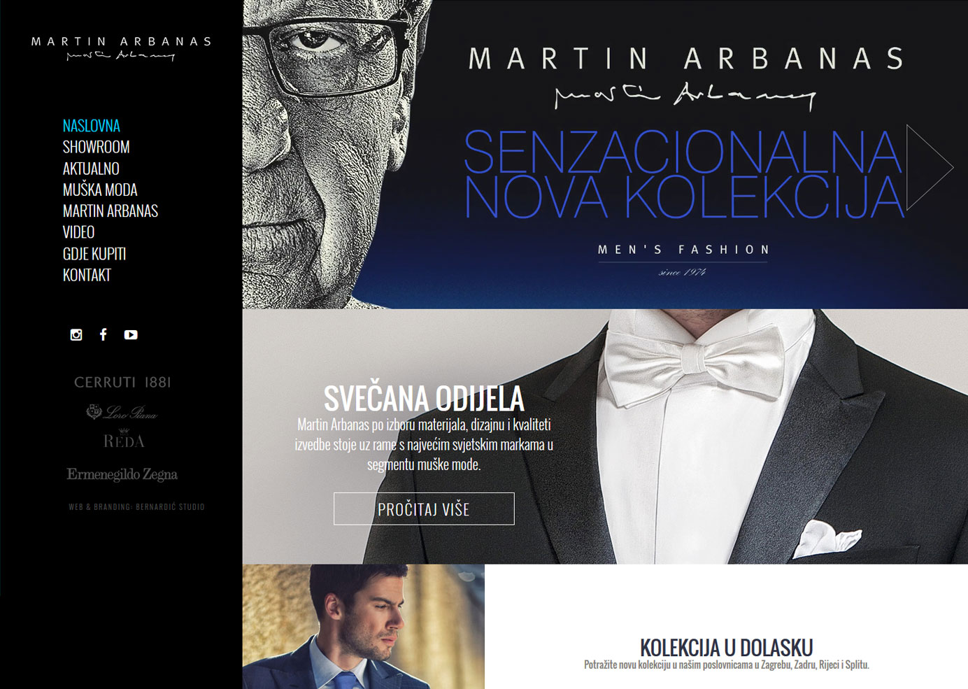 Graphic and web design - Martin Arbanas -BERNARDIĆ STUDIO