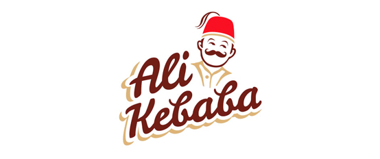 Dizajn logotipa fast food Alikebaba