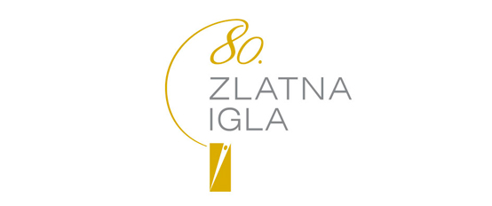 80. Zlatna igla | Design of the visual identity of the 80th anniversary of the Golden Needle