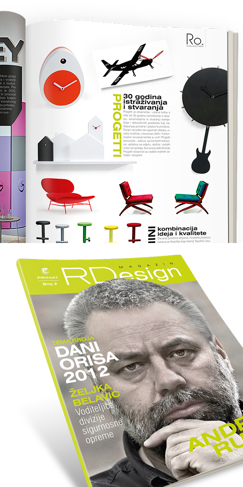 Corporate Design Magazin RDesign | Primat RD | BERNARDIĆ STUDIO kreative Produktion