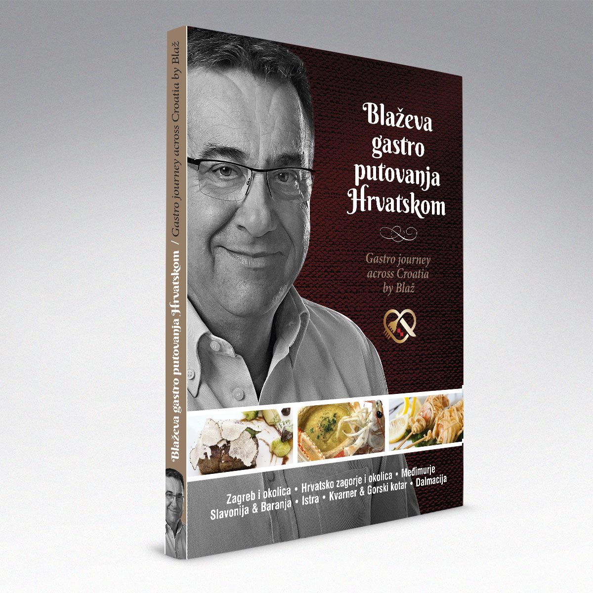 Book Design - Blaževa gastro putovanja Hrvatskom | Bernardić Studio |  Book design and layout
